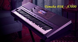 Yamaha PSR-A5000 Çıktı ! Yamaha New PSR-A5000 Released!